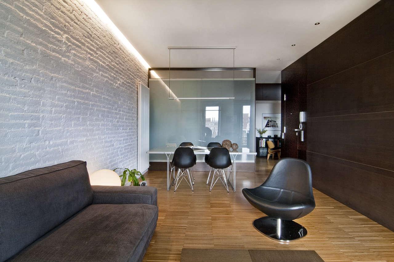 Reforma vivienda en el Poblenou Barcelona salón 3