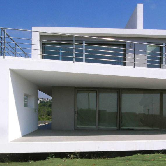 Vivienda Unifamiliar Coma-ruga arquitectura fachada