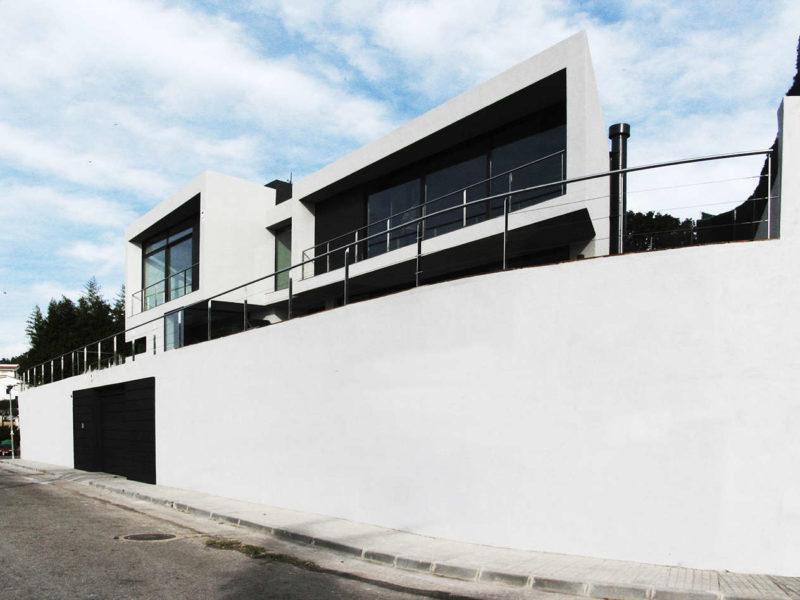 Vivienda Unifamiliar Pineda de Mar obra nueva arquitectura