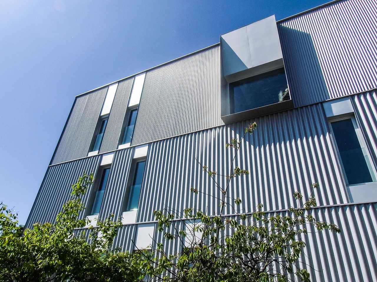 Fachada CERN Ginebra Oficinas obra nueva edificio 3862