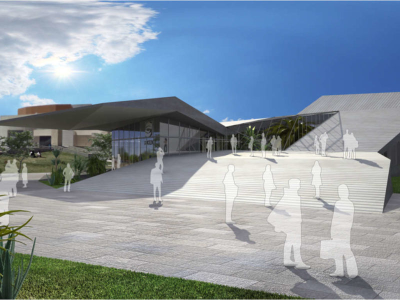 FECHAC México Ciudad de Juárez proyecto arquitectura escalera