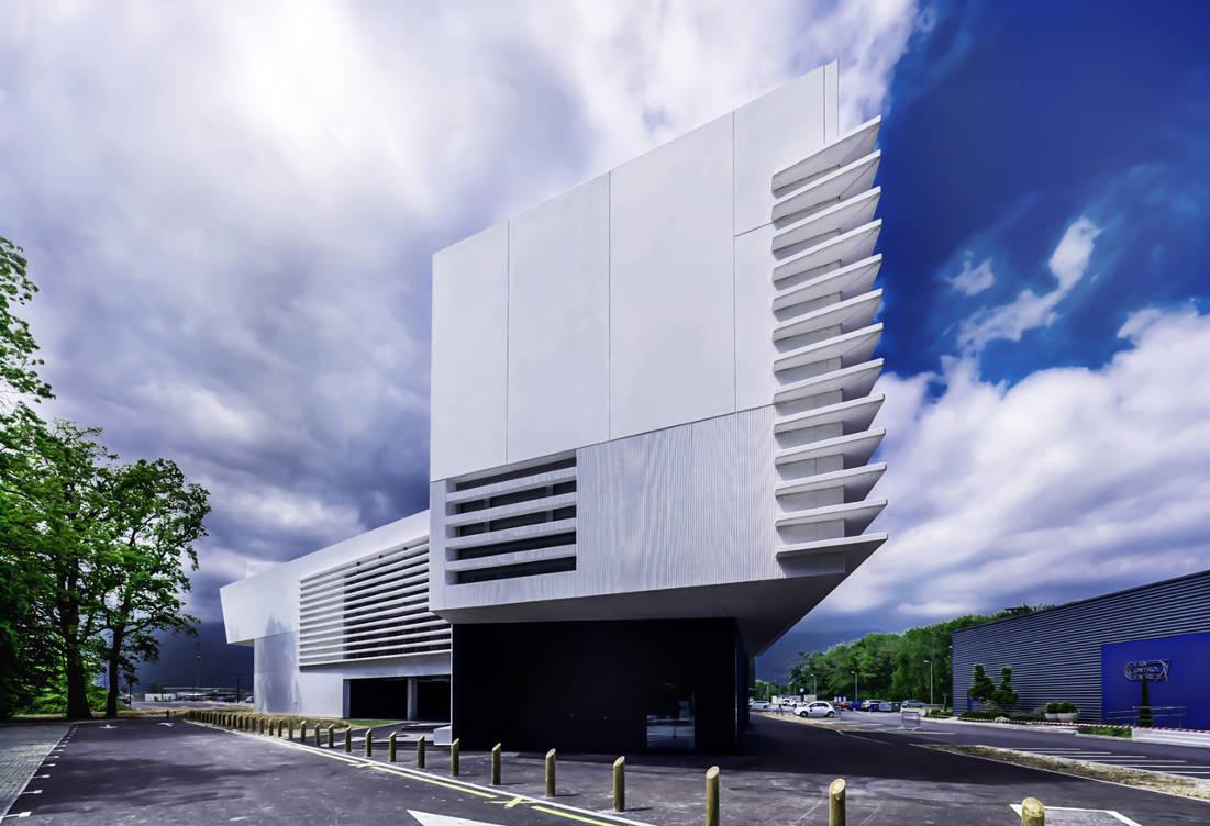 CERN Ginebra Oficinas obra nueva edificio 774 Moretti