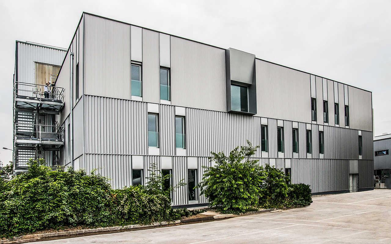 CERN Ginebra Oficinas obra nueva edificio 3862 fachada