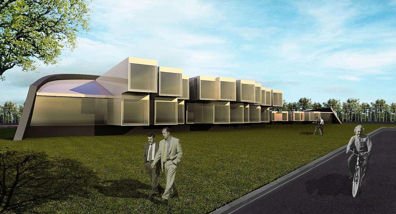 CERN Ginebra Oficinas proyecto arquitectura 936 render 5
