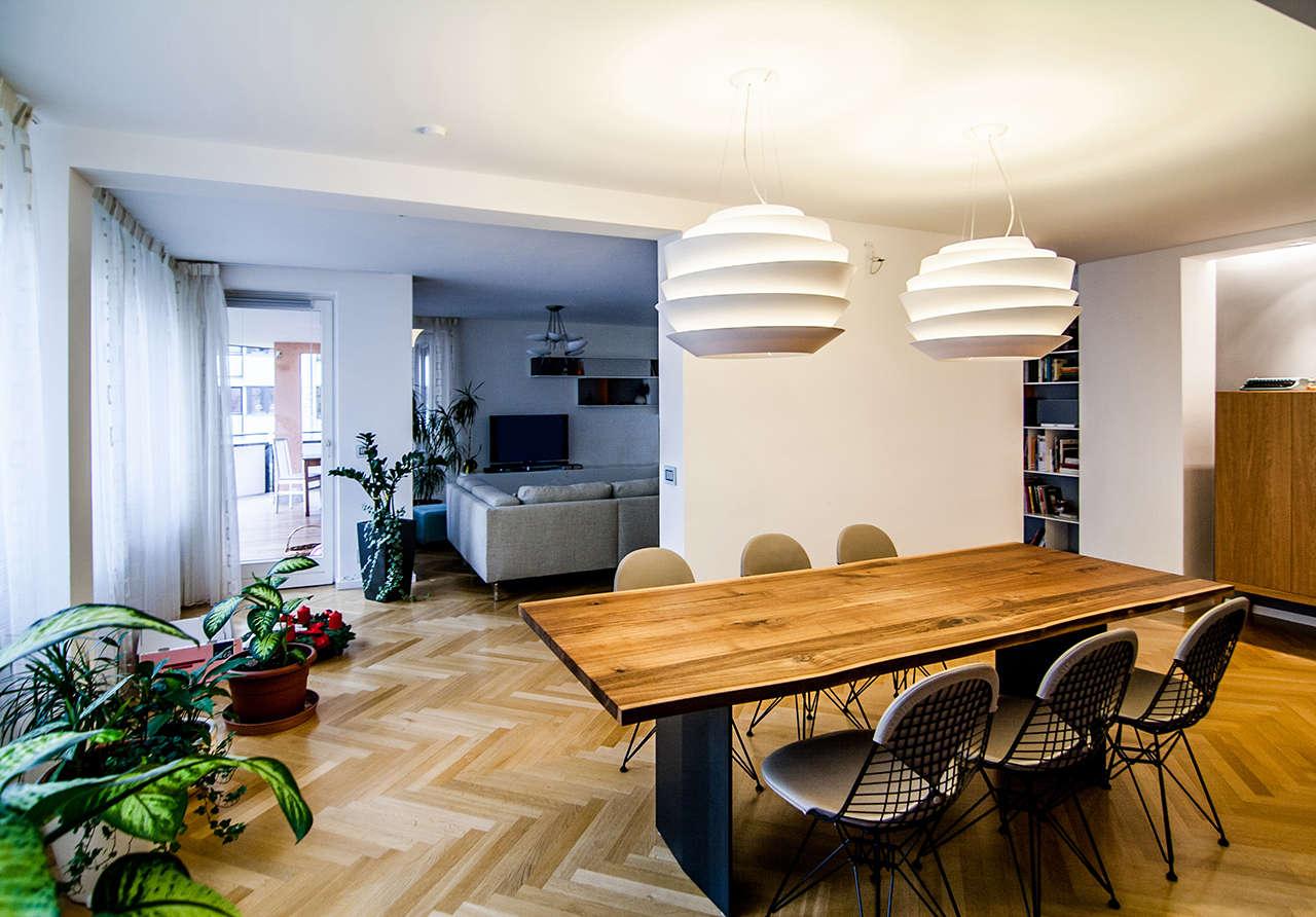 Reforma vivienda en Múnich Alemania comedor 2
