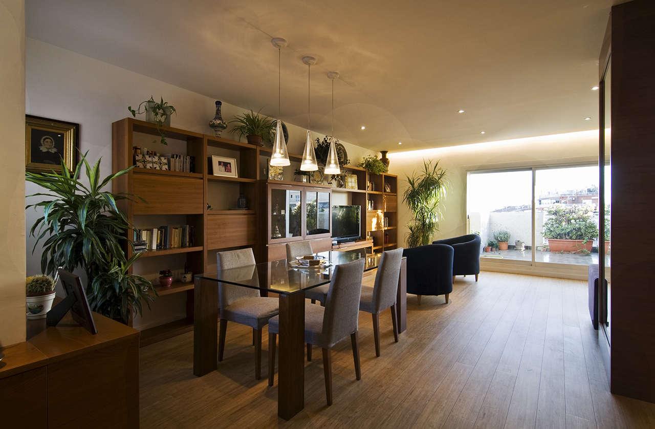 Reforma vivienda en Sagrada Familia Barcelona salón 3