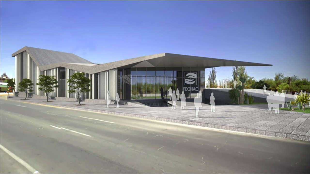 FECHAC México Ciudad de Juárez proyecto arquitectura marquesina