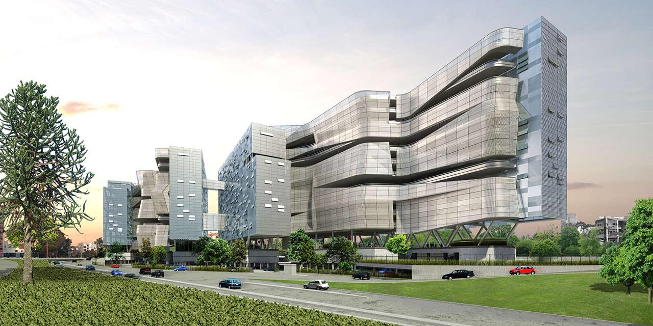 UTEC Lima Perú Universidad proyecto arquitectura perspectiva