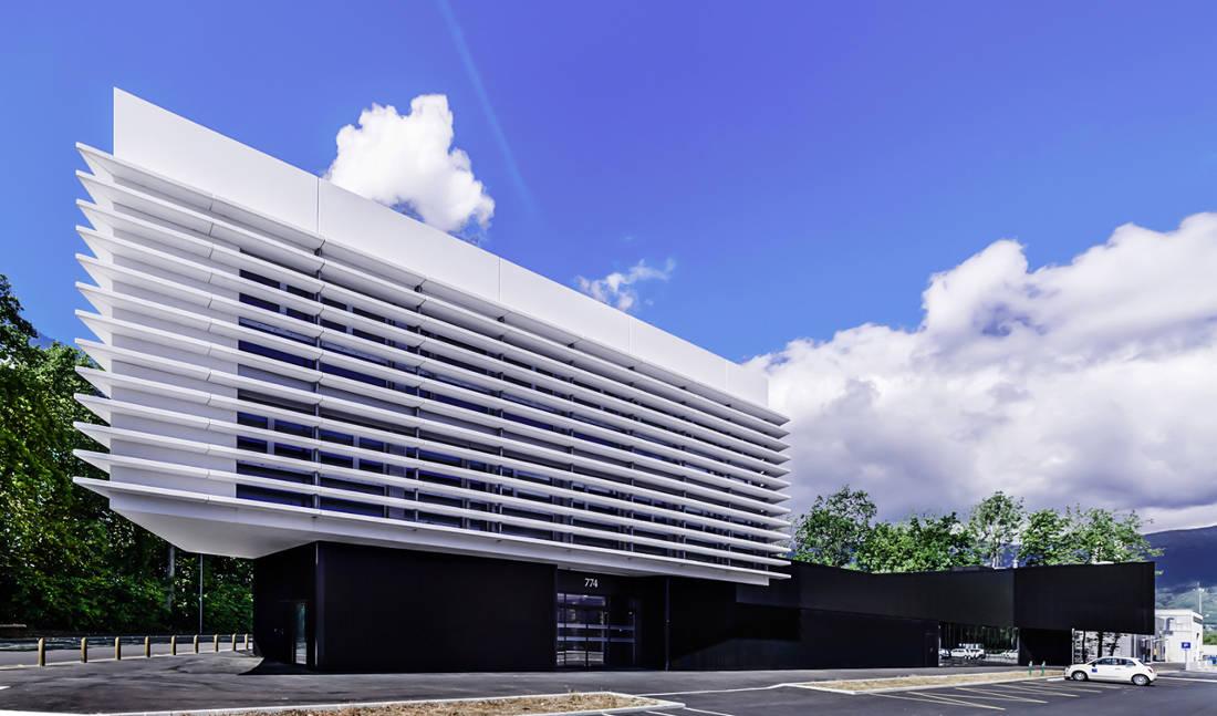 CERN Ginebra Oficinas obra nueva edificio 774 lamas