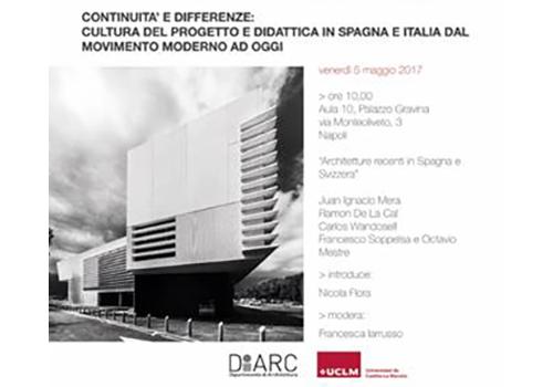 Conferenza Università Napoli Federico II DIARC Edificio CERN 774