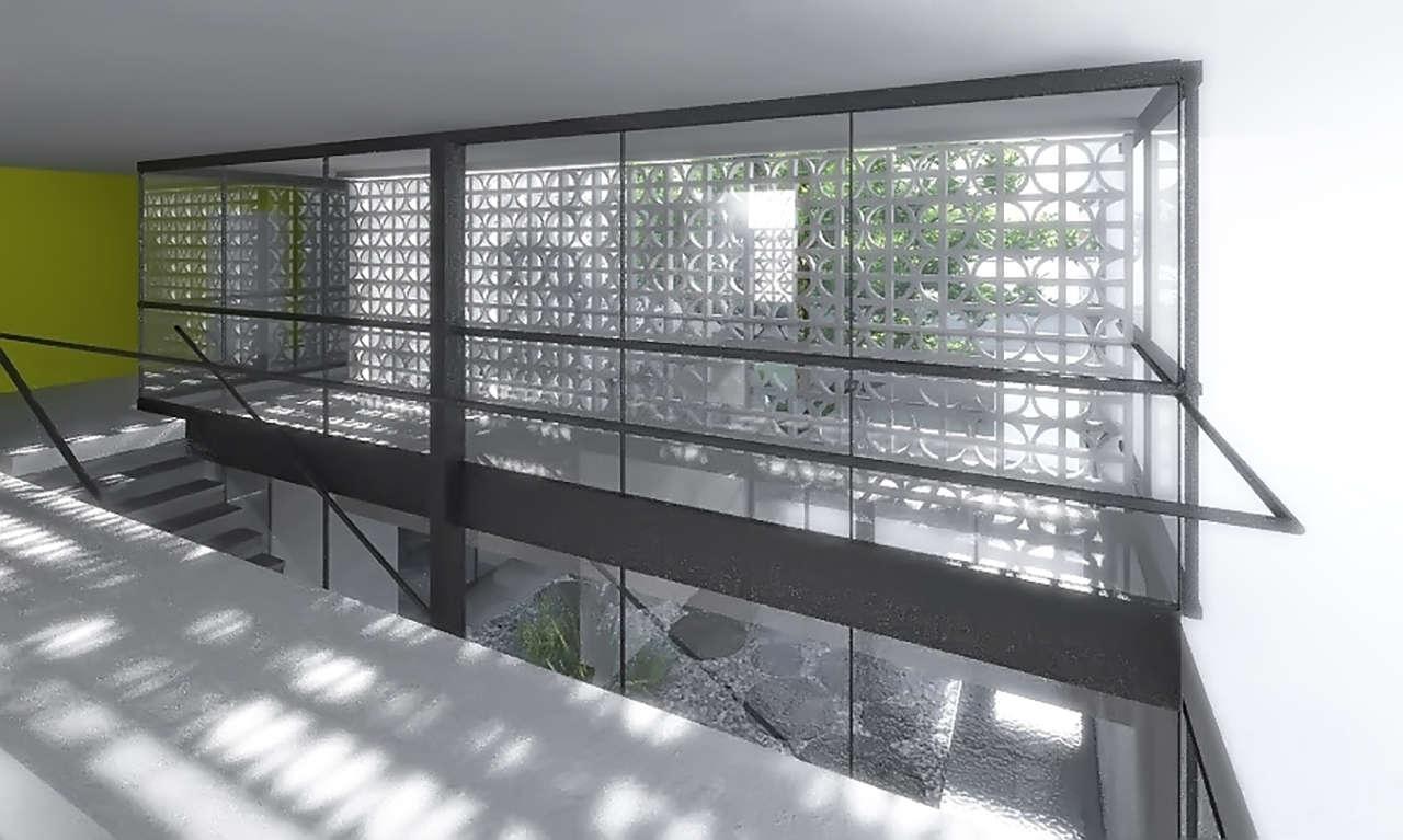 CHMN México Ciudad de Juárez proyecto arquitectura escalera