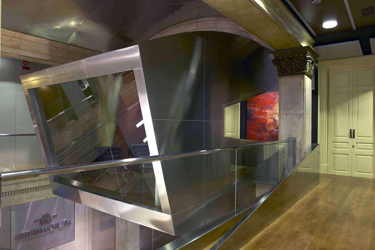 Reforma integral oficinas Mutua Madrileña Barcelona box
