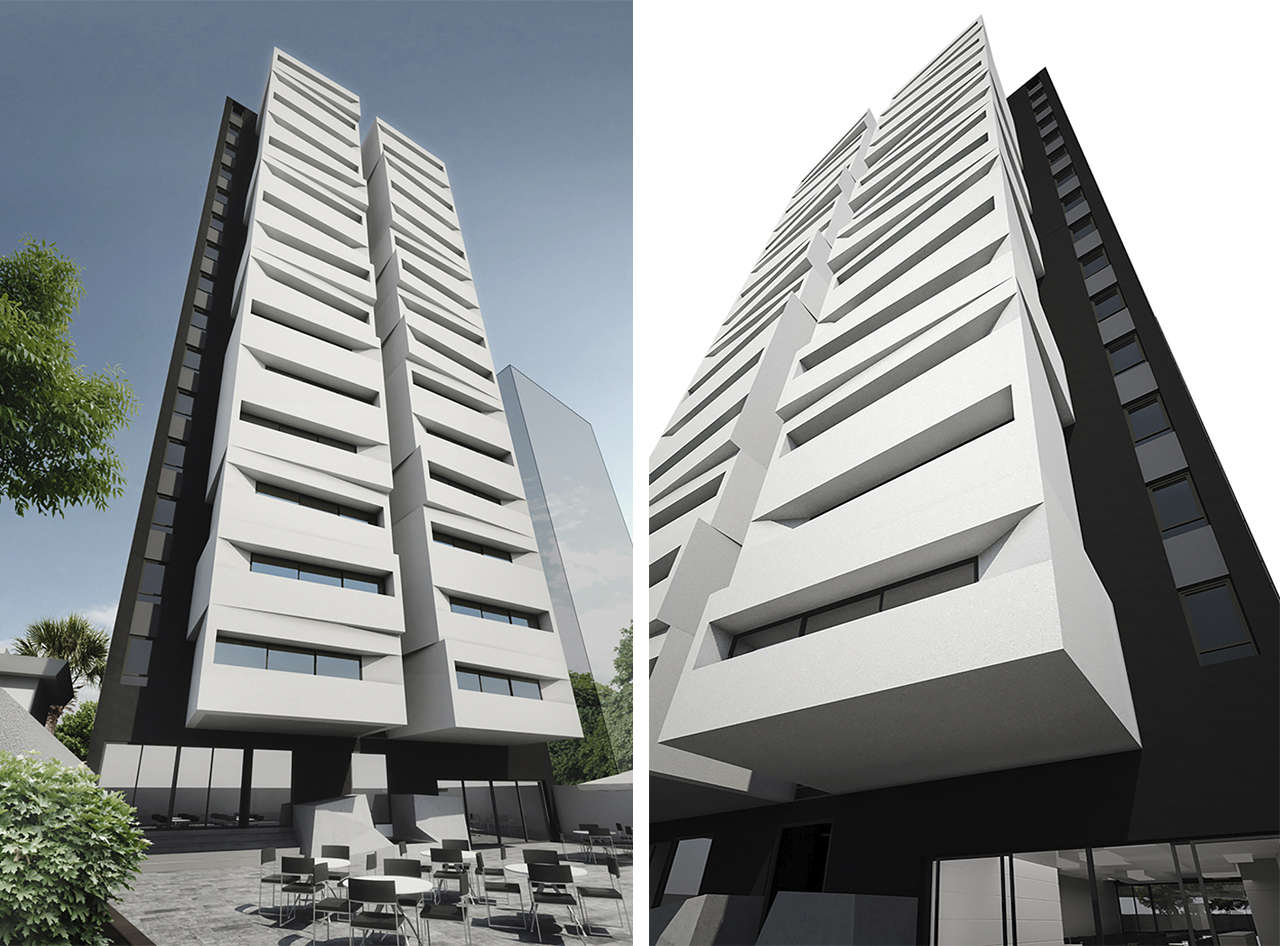 Loft boutique Lima Perú concurso vivienda arquitectura fachadas