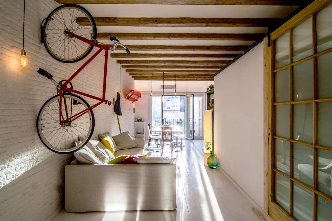 Reforma vivienda surfer apartment salón 2