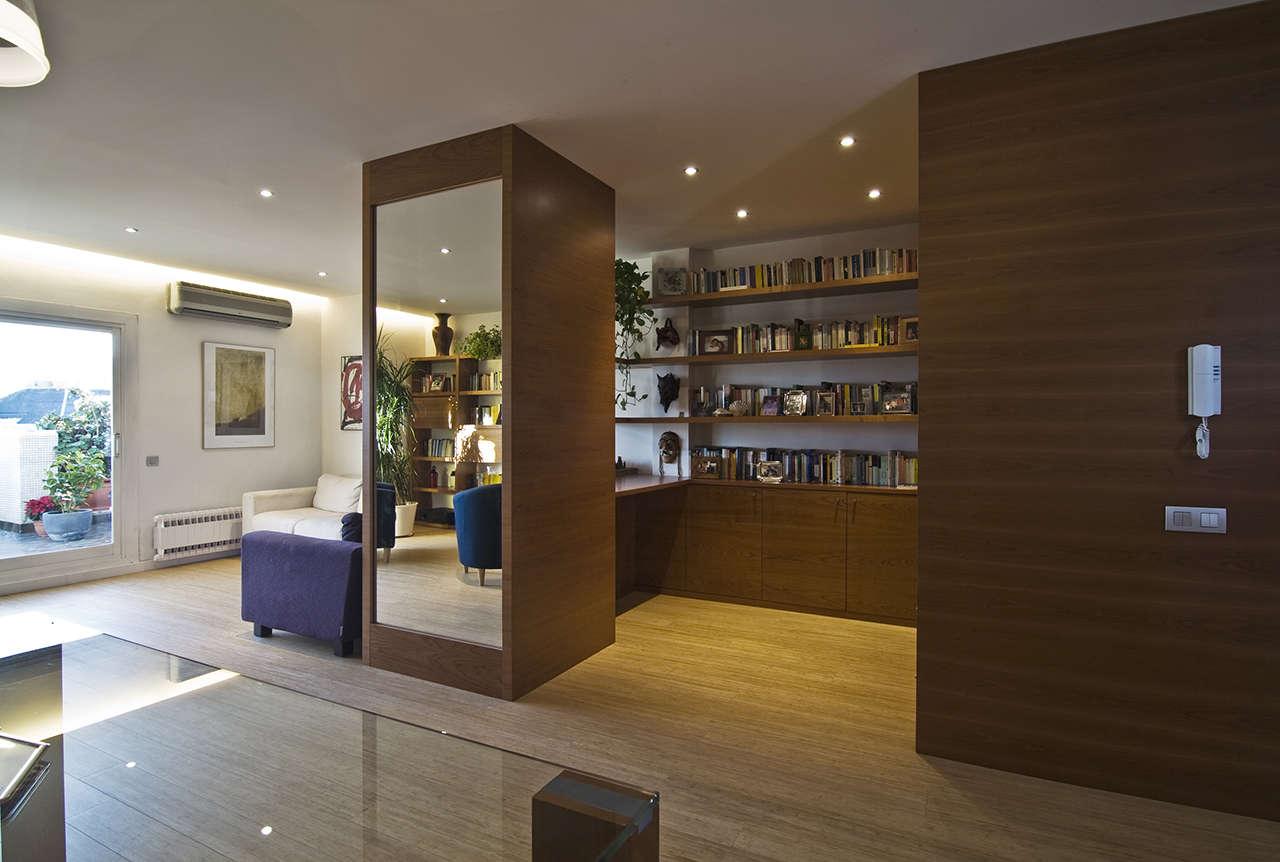Reforma vivienda en Sagrada Familia Barcelona salón 2
