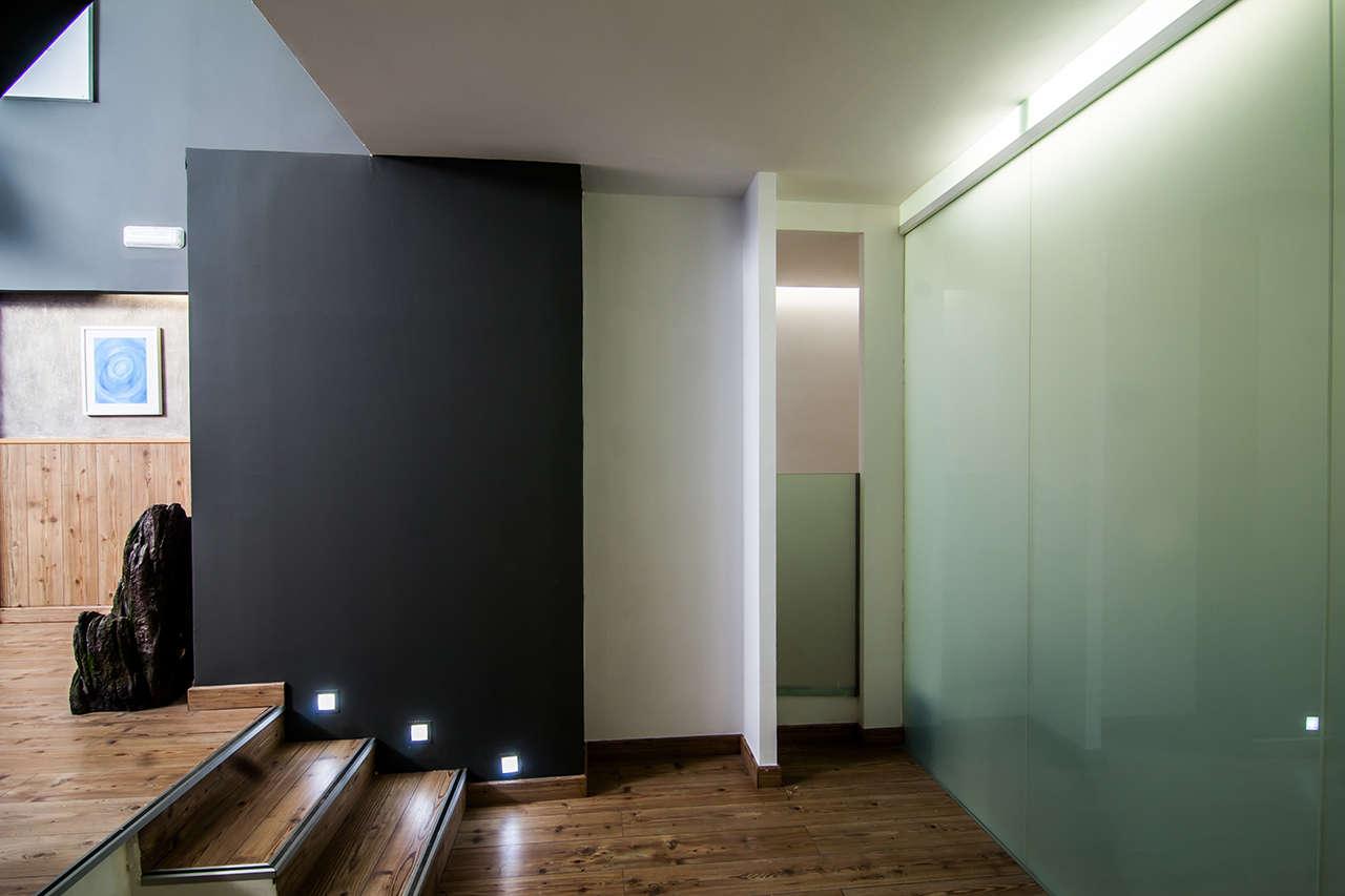 mampara Espacio Arká reforma interiorismo Barcelona