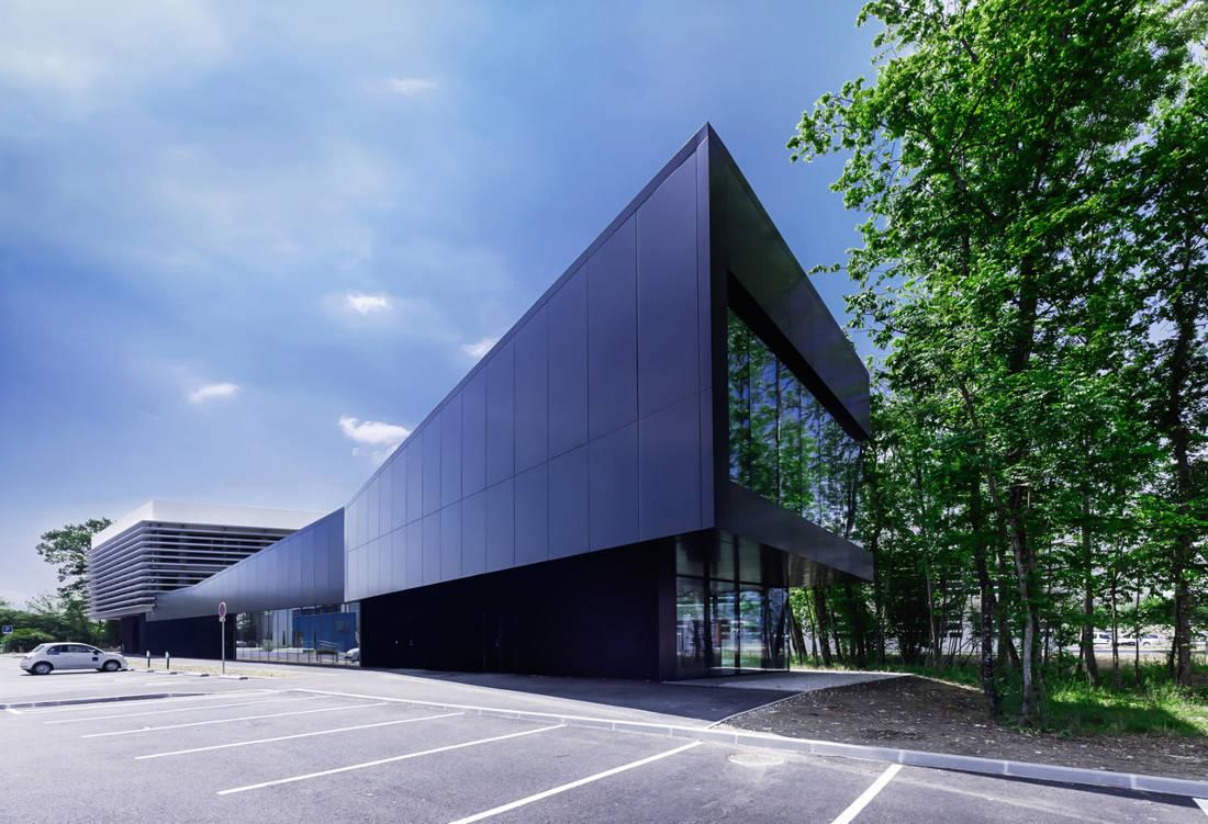 CERN Ginebra Oficinas obra nueva edificio 774 glassbox 2