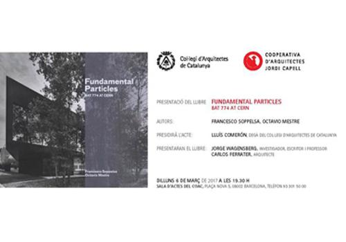 libro Fundamental Particles COAC Barcelona