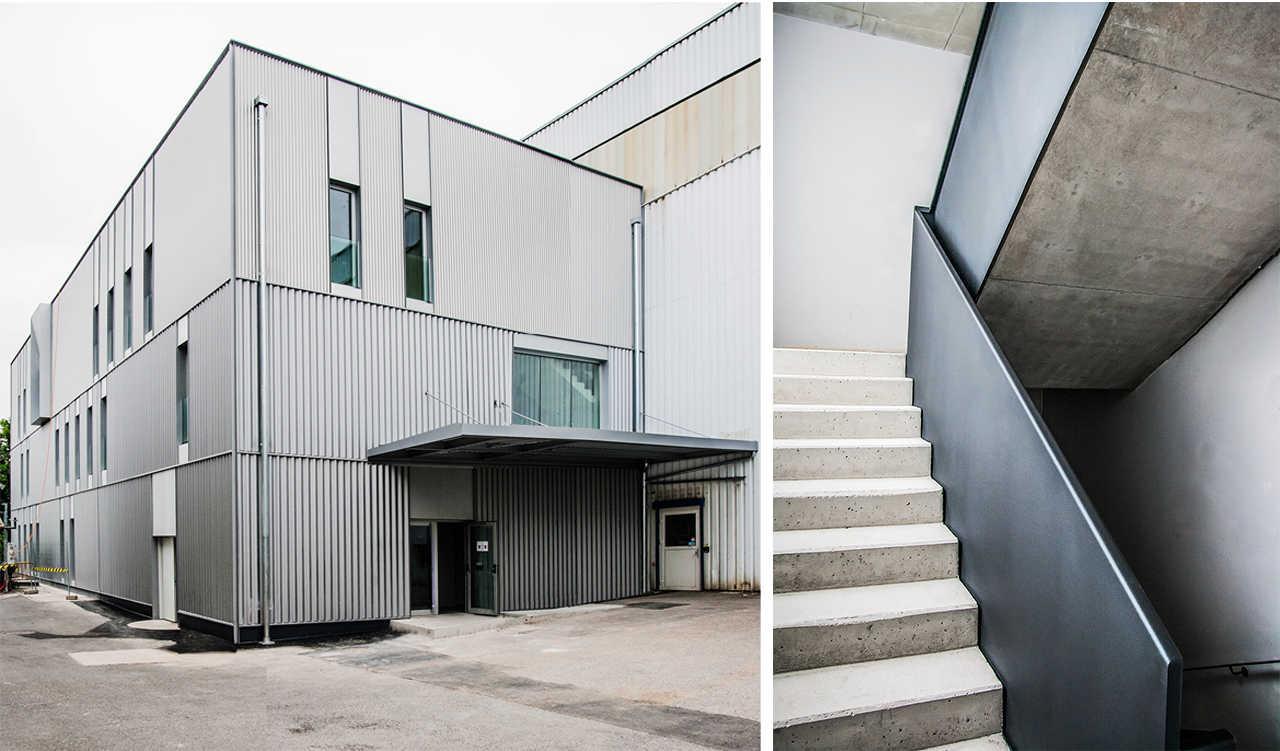 CERN Ginebra Oficinas obra nueva edificio 3862 marquesina