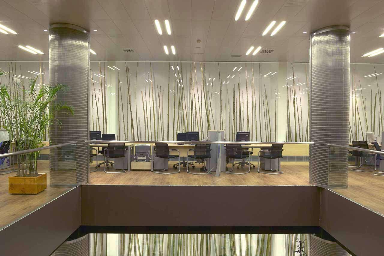 Reforma integral oficinas Mutua Madrileña Barcelona interior 1
