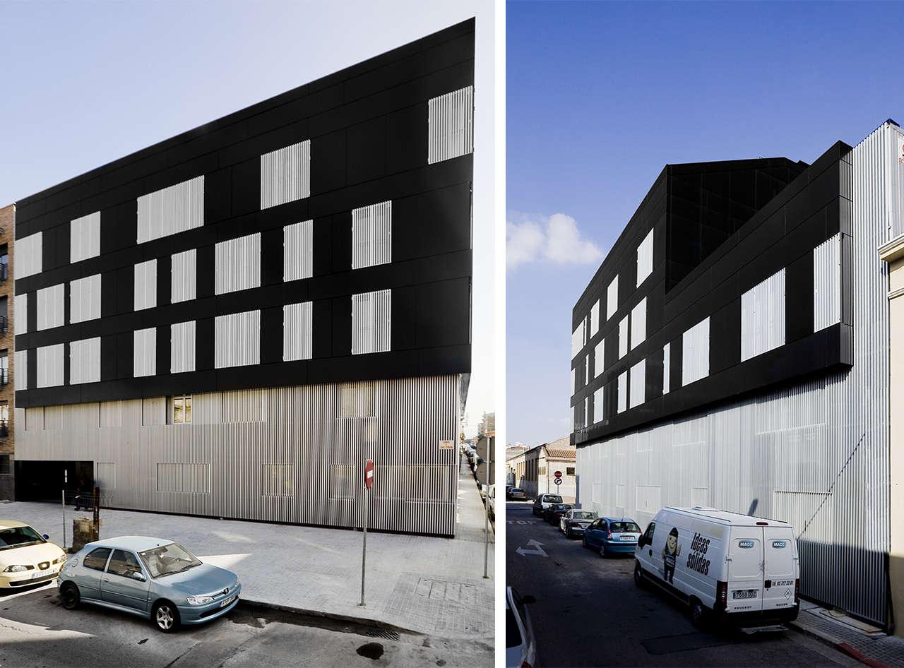 Edificio de viviendas en Sabadell obra nueva fachadas 2