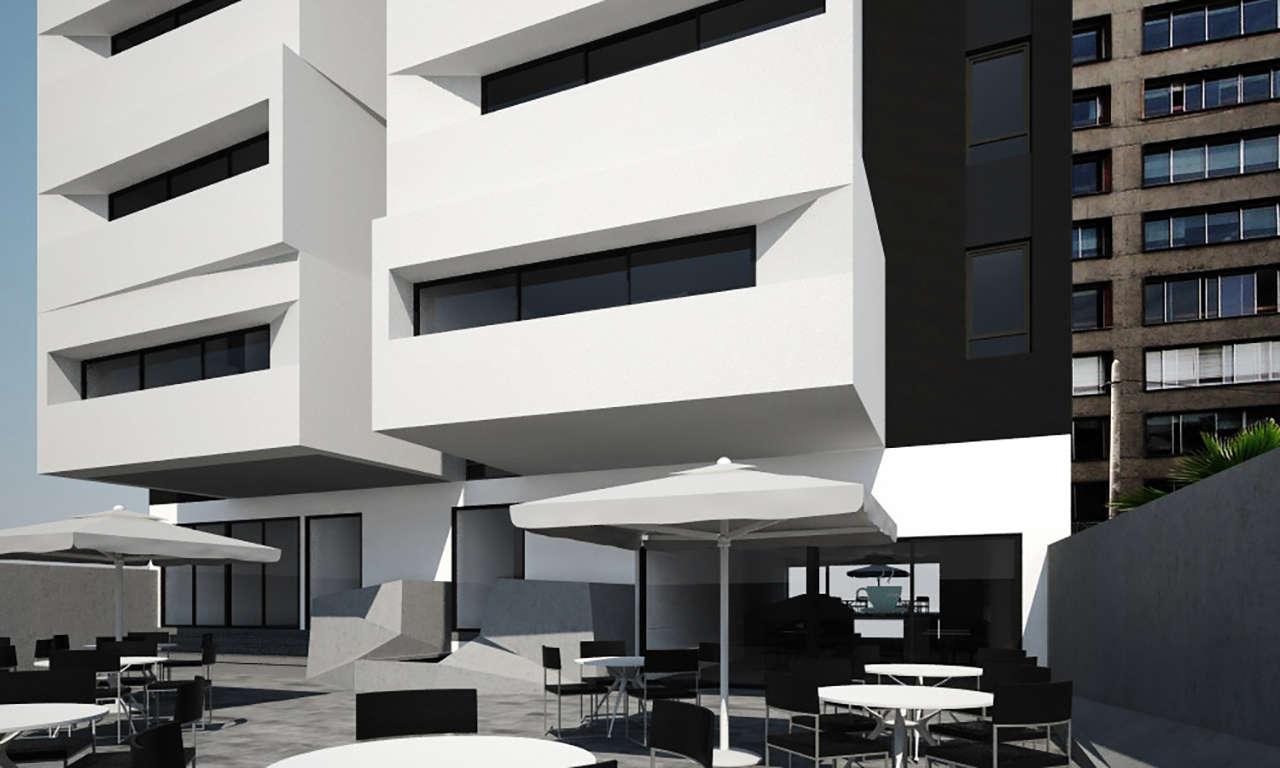 Loft boutique Lima Perú concurso vivienda arquitectura patio