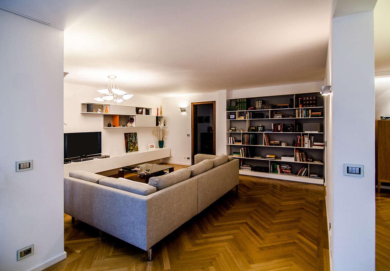 Reforma vivienda en Munich Alemania salón