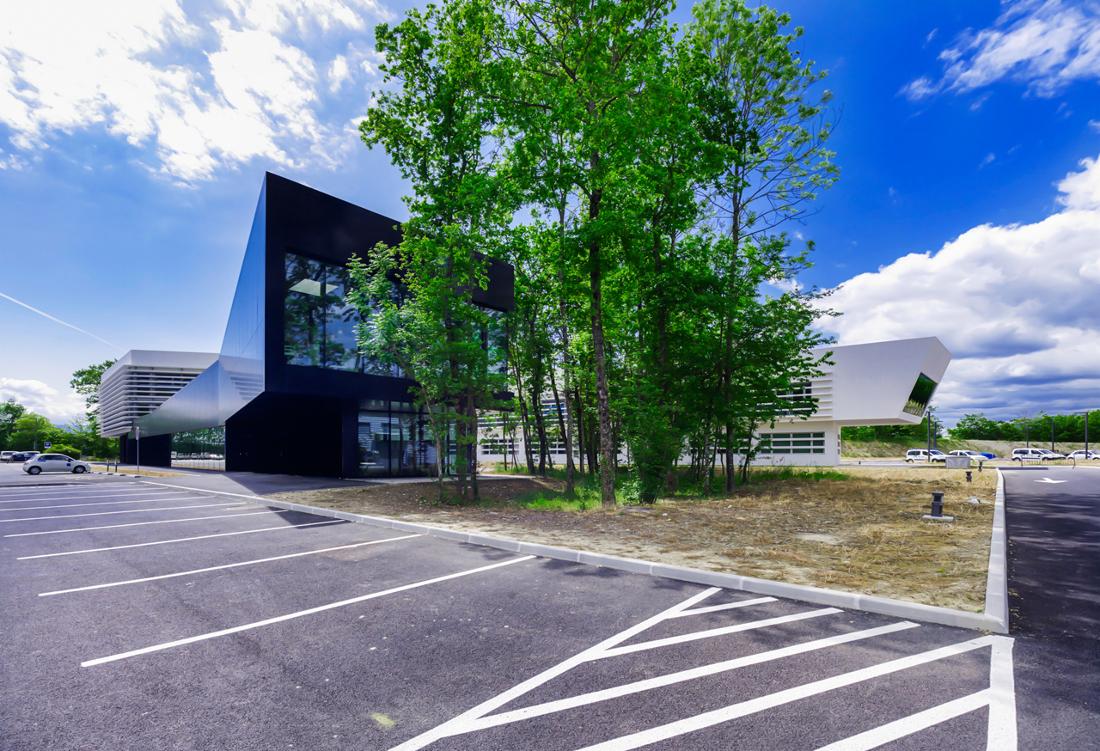 CERN Ginebra Oficinas obra nueva edificio 774 glassbox 1