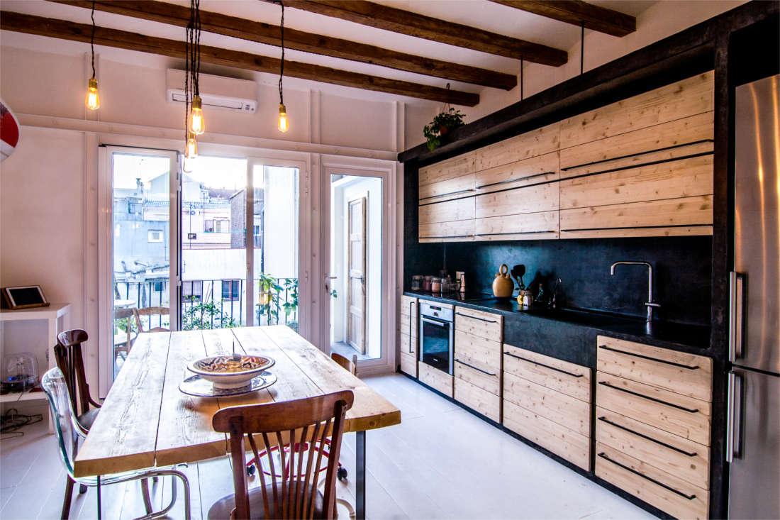 Reforma vivienda surfer apartment cocina
