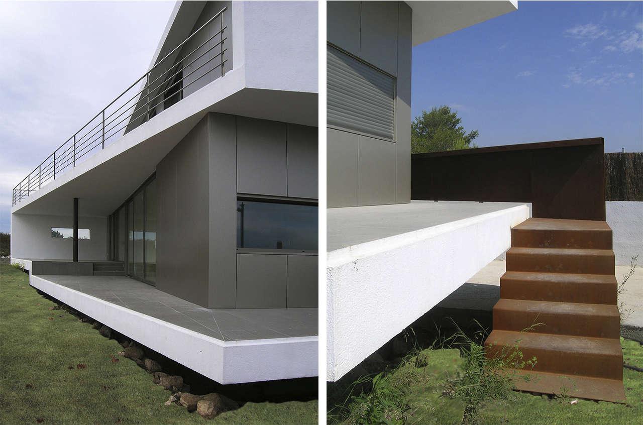 Vivienda Unifamiliar Coma-ruga arquitectura porche