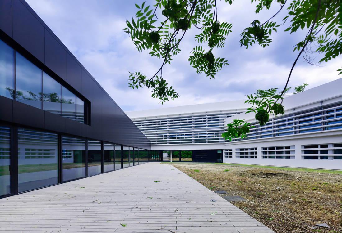 CERN Ginebra Oficinas obra nueva edificio 774 patio 4