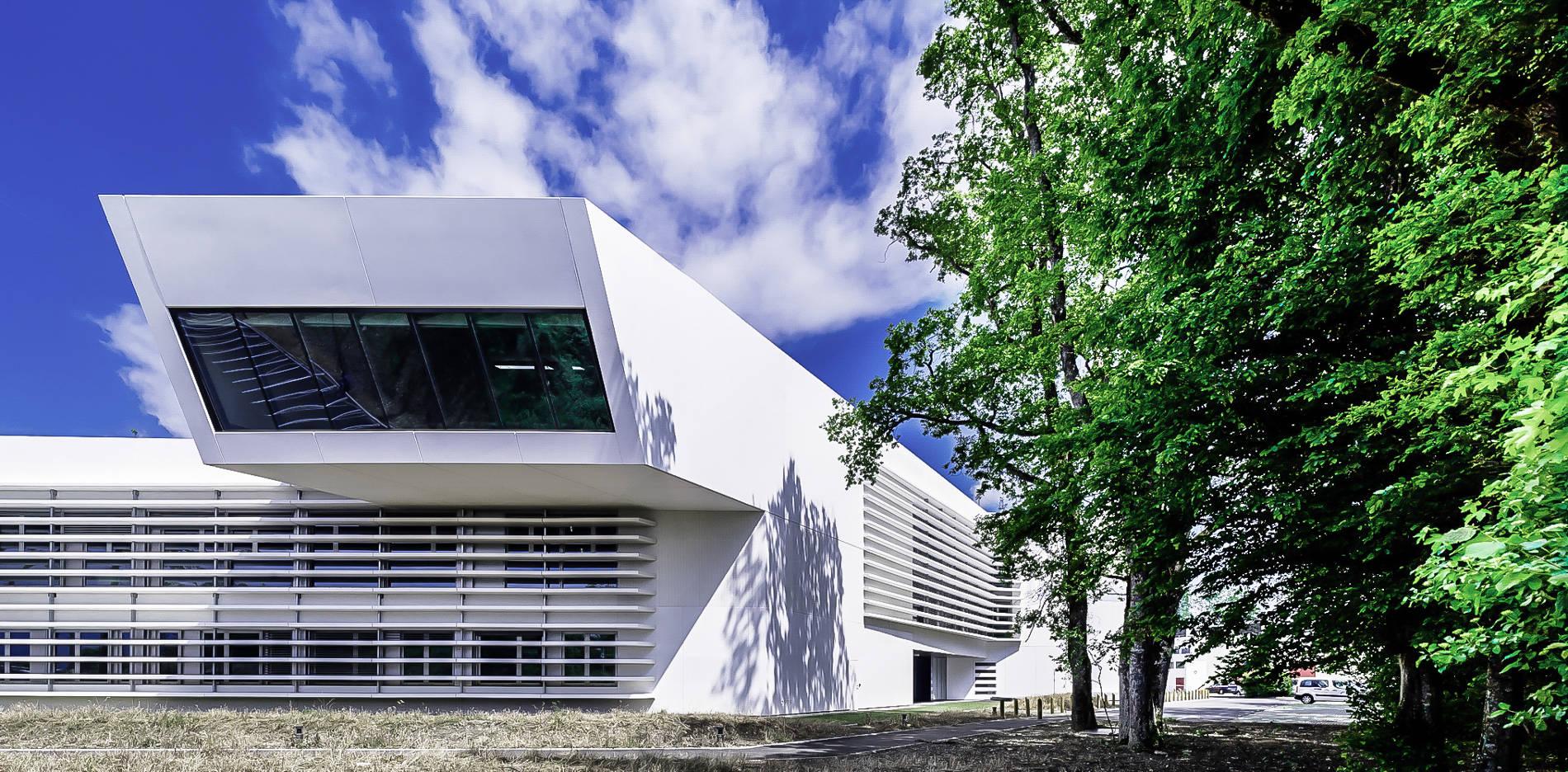 Voladizo 1 CERN Ginebra Oficinas obra nueva edificio 774