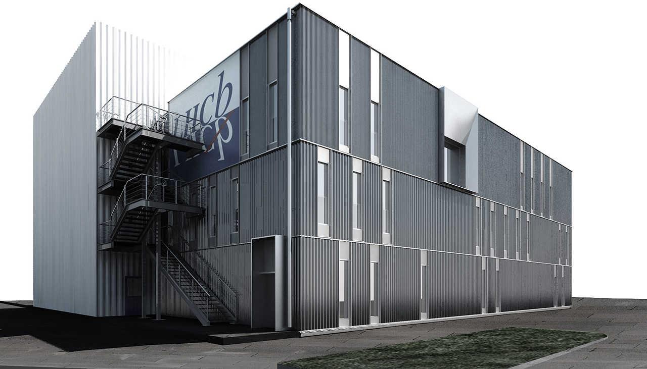 CERN Ginebra Oficinas obra nueva edificio 3862 render 2
