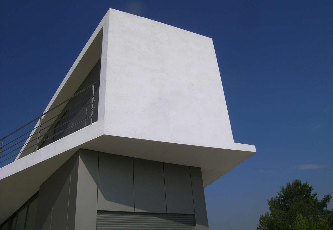 Vivienda Unifamiliar Coma-ruga arquitectura voladizo