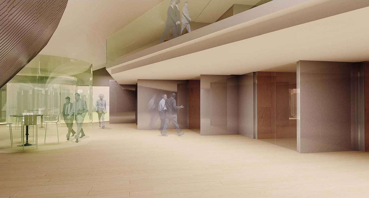 CERN Ginebra Oficinas proyecto arquitectura 936 salas