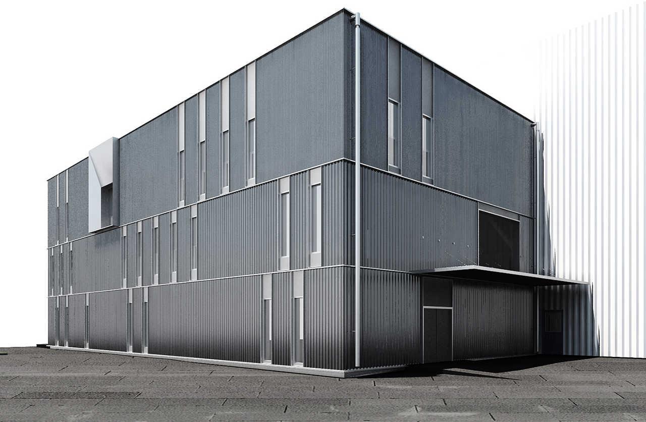 CERN Ginebra Oficinas obra nueva edificio 3862 render 1