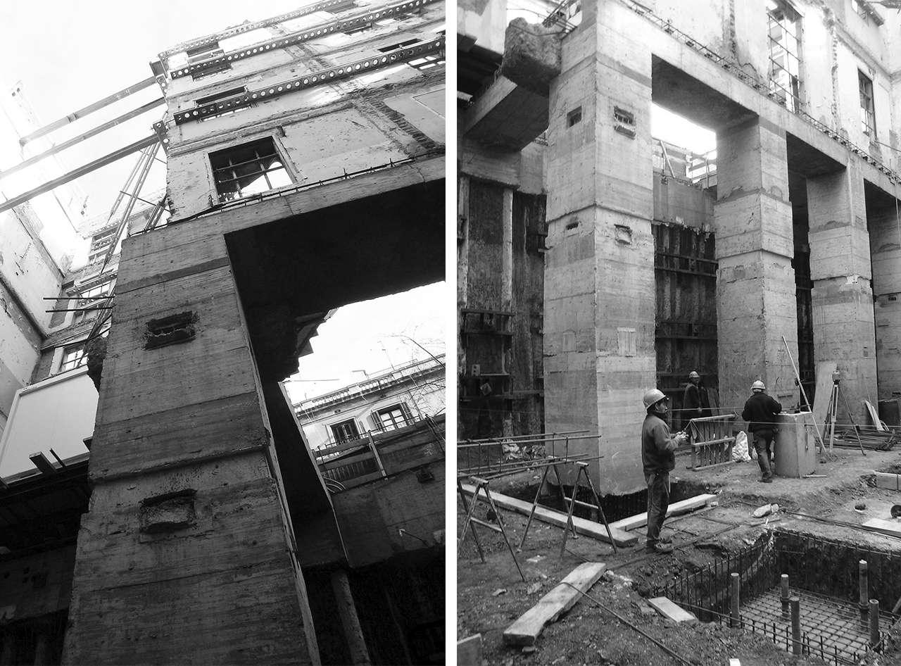 Clínica Olivé Gumà Barcelona reforma edificio remonta fases 2