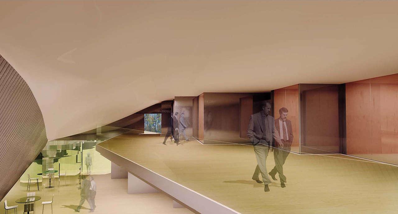 CERN Ginebra Oficinas proyecto arquitectura 936 doble altura