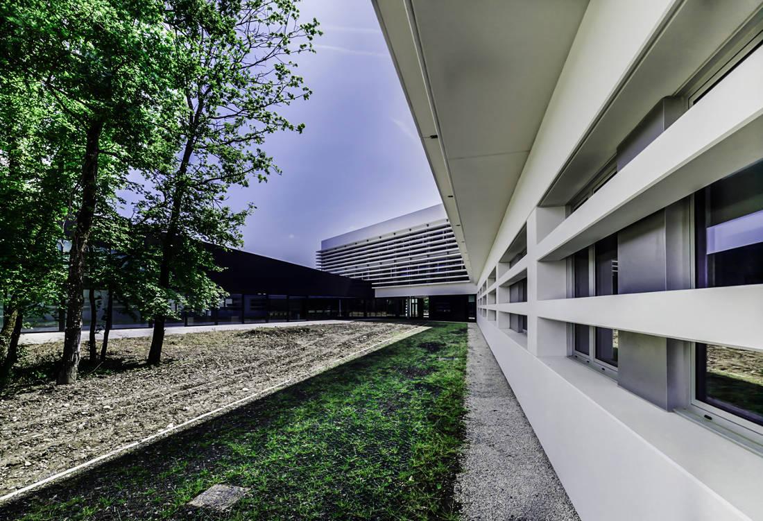 CERN Ginebra Oficinas obra nueva edificio 774 patio 2