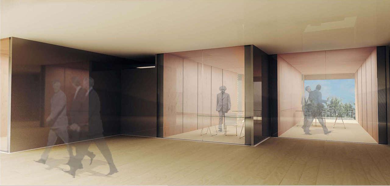 CERN Ginebra Oficinas proyecto arquitectura 936 interior