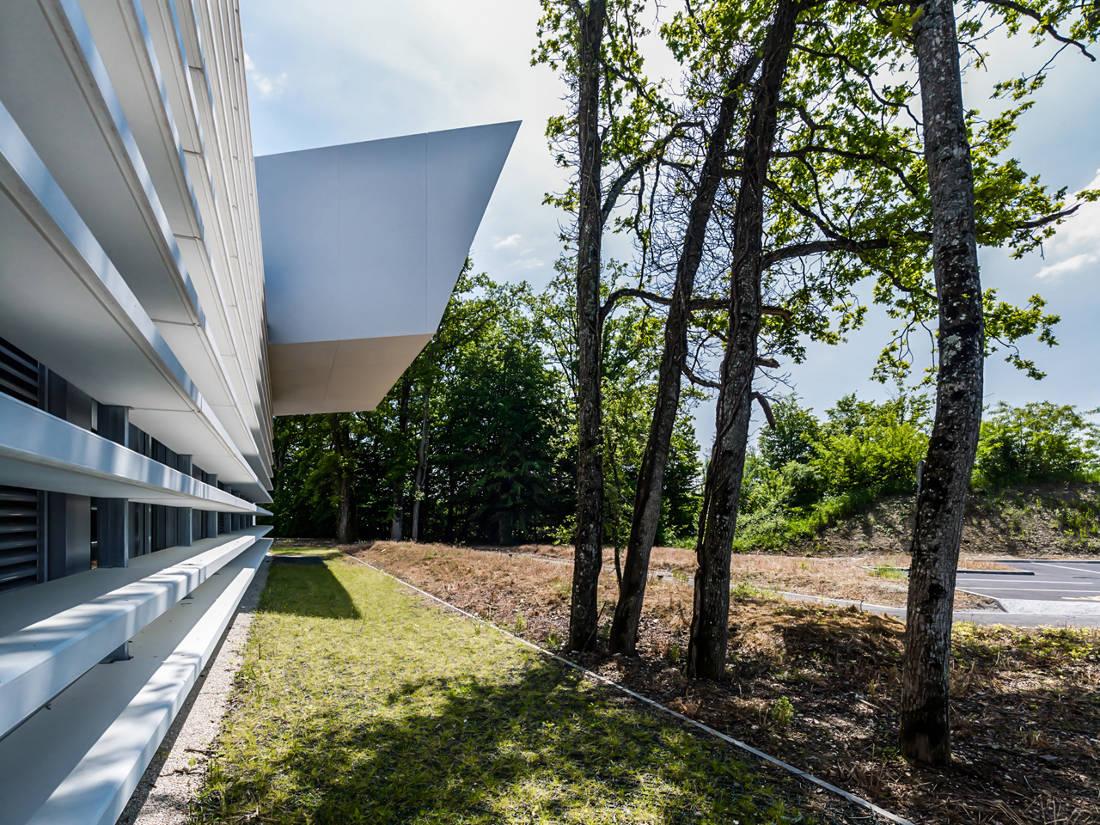 CERN Ginebra Oficinas obra nueva edificio 774 voladizo 4