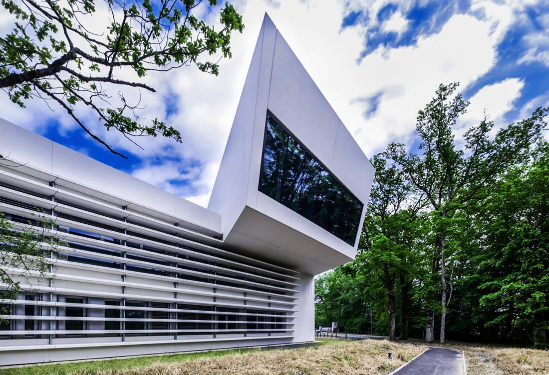 CERN Ginebra Oficinas obra nueva edificio 774 voladizo 3