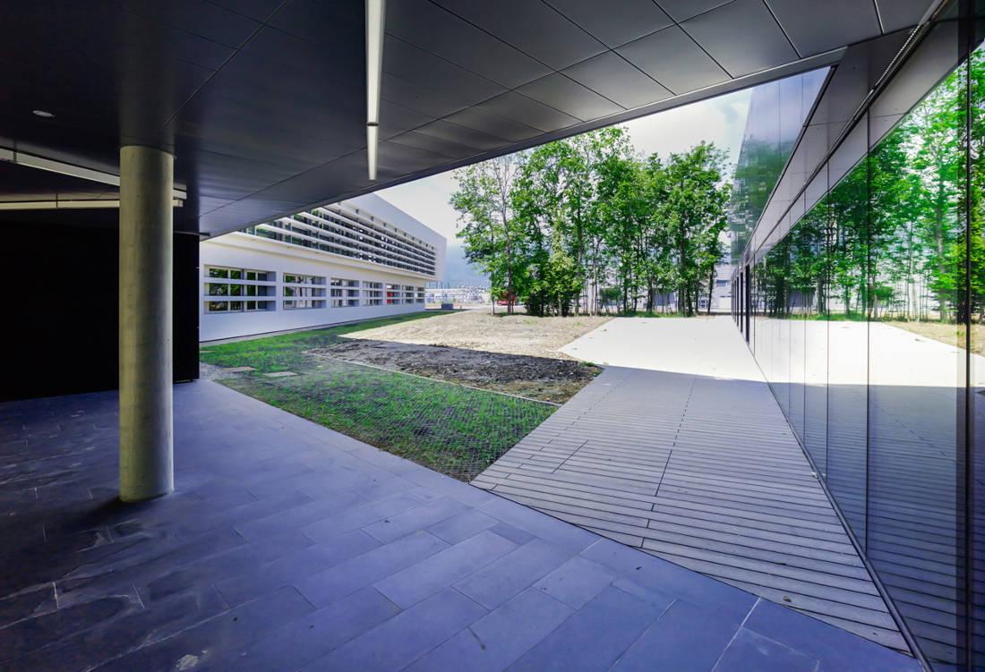 CERN Ginebra Oficinas obra nueva edificio 774 porche
