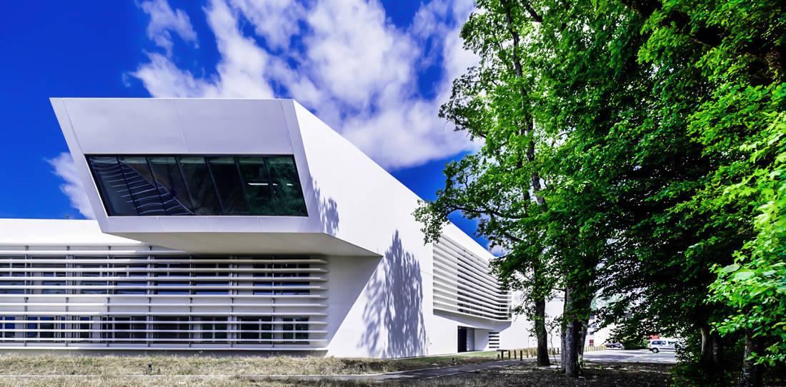 CERN Ginebra Oficinas obra nueva edificio 774 voladizo 2